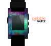 The Abstract Oil Painting V3 Skin for the Pebble SmartWatch