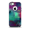 The Abstract Oil Painting V3 Skin for the iPhone 5c OtterBox Commuter Case