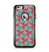 The Abstract Opened Green & Pink Cubes Apple iPhone 6 Plus Otterbox Commuter Case Skin Set