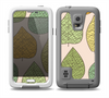 The Abstract Pastel Lined-Leaves Skin Samsung Galaxy S5 frē LifeProof Case