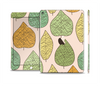 The Abstract Pastel Lined-Leaves Skin Set for the Apple iPad Air 2