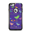 The Abstract Pattern-Filled Birds Apple iPhone 6 Plus Otterbox Commuter Case Skin Set