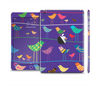 The Abstract Pattern-Filled Birds Full Body Skin Set for the Apple iPad Mini 2