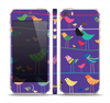 The Abstract Pattern-Filled Birds Skin Set for the Apple iPhone 5s