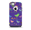 The Abstract Pattern-Filled Birds Skin for the iPhone 5c OtterBox Commuter Case