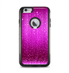 The Abstract Pink Neon Rain Curtain Apple iPhone 6 Plus Otterbox Commuter Case Skin Set