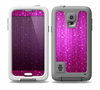 The Abstract Pink Neon Rain Curtain Skin for the Samsung Galaxy S5 frē LifeProof Case