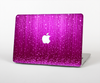 The Abstract Pink Neon Rain Curtain Skin for the Apple MacBook Air 13""