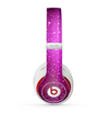 The Abstract Pink Neon Rain Curtain Skin for the Beats by Dre Studio (2013+ Version) Headphones