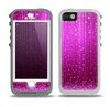 The Abstract Pink Neon Rain Curtain Skin for the iPhone 5-5s OtterBox Preserver WaterProof Case