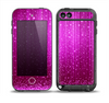 The Abstract Pink Neon Rain Curtain Skin for the iPod Touch 5th Generation frē LifeProof Case