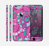 The Abstract Pink & Purple Vector Swirled Pattern Skin for the Apple iPhone 6 Plus