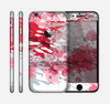 The Abstract Red, Pink and White Paint Splatter Skin for the Apple iPhone 6