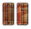 The Abstract Retro Stripes Apple iPhone 6 LifeProof Nuud Case Skin Set