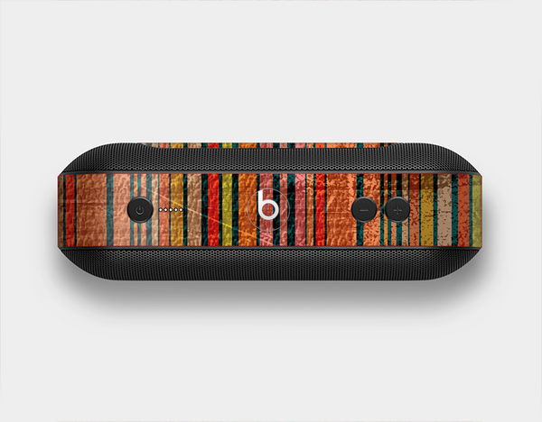 The Abstract Retro Stripes Skin Set for the Beats Pill Plus