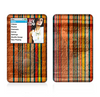 The Abstract Retro Stripes Skin For The Apple iPod Classic