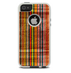 The Abstract Retro Stripes Skin For The iPhone 5-5s Otterbox Commuter Case