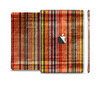 The Abstract Retro Stripes Skin Set for the Apple iPad Mini 4
