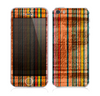 The Abstract Retro Stripes Skin for the Apple iPhone 5s