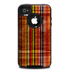 The Abstract Retro Stripes Skin for the iPhone 4-4s OtterBox Commuter Case