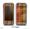 The Abstract Retro Stripes Skin for the iPhone 5c nüüd LifeProof Case