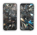 The Abstract Shattered Crystal Pattern Apple iPhone 6 LifeProof Nuud Case Skin Set