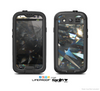 The Abstract Shattered Crystal Pattern Skin For The Samsung Galaxy S3 LifeProof Case