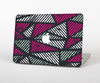 The Abstract Striped Vibrant Trangles Skin Set for the Apple MacBook Air 11""