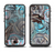 The Abstract Subtle Toned Floral Strokes Apple iPhone 6/6s Plus LifeProof Fre Case Skin Set