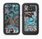 The Abstract Subtle Toned Floral Strokes Full Body Samsung Galaxy S6 LifeProof Fre Case Skin Kit