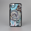 The Abstract Subtle Toned Floral Strokes Skin-Sert Case for the Apple iPhone 6 Plus