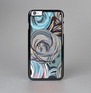 The Abstract Subtle Toned Floral Strokes Skin-Sert for the Apple iPhone 6 Skin-Sert Case
