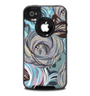 The Abstract Subtle Toned Floral Strokes Skin for the iPhone 4-4s OtterBox Commuter Case