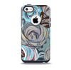 The Abstract Subtle Toned Floral Strokes Skin for the iPhone 5c OtterBox Commuter Case