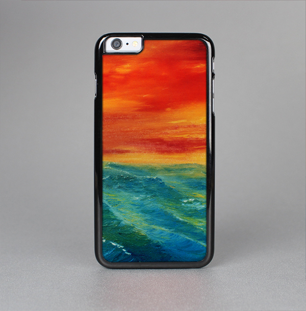 The Abstract Sunset Painting Skin-Sert Case for the Apple iPhone 6 Plus