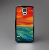 The Abstract Sunset Painting Skin-Sert Case for the Samsung Galaxy S5