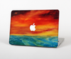 The Abstract Sunset Painting Skin Set for the Apple MacBook Air 11""