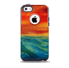The Abstract Sunset Painting Skin for the iPhone 5c OtterBox Commuter Case