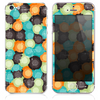 The Abstract Swirled Circles Skin for the iPhone 3, 4-4s, 5-5s or 5c