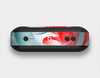 The Abstract Teal & Red Love Connect Skin Set for the Beats Pill Plus