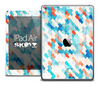 The Abstract Turquoise Tiled Skin for the iPad Air