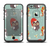 The Abstract Vintage Christmas Owls Apple iPhone 6/6s Plus LifeProof Fre Case Skin Set
