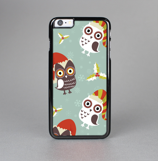 The Abstract Vintage Christmas Owls Skin-Sert Case for the Apple iPhone 6 Plus