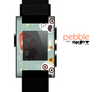 The Abstract Vintage Christmas Owls Skin for the Pebble SmartWatch