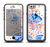 The Abstract White and Blue Fish Fossil Apple iPhone 6/6s Plus LifeProof Fre Case Skin Set