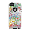 The Abstract Woven Color Pattern Apple iPhone 5-5s Otterbox Commuter Case Skin Set
