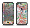 The Abstract Woven Color Pattern Apple iPhone 6/6s Plus LifeProof Fre Case Skin Set