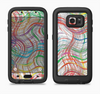 The Abstract Woven Color Pattern Full Body Samsung Galaxy S6 LifeProof Fre Case Skin Kit