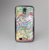 The Abstract Woven Color Pattern Skin-Sert Case for the Samsung Galaxy S4