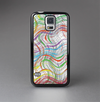 The Abstract Woven Color Pattern Skin-Sert Case for the Samsung Galaxy S5